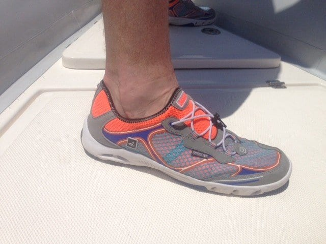Sperry Mens H2O Escape Bungee Boat Shoe