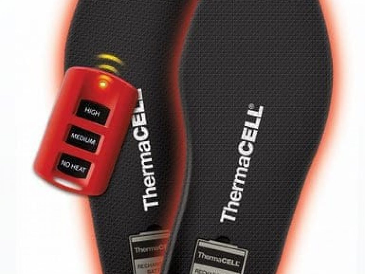 MEDIUM ThermaCELL Proflex Heavy Duty Heated Insoles Bluetooth Compatibility
