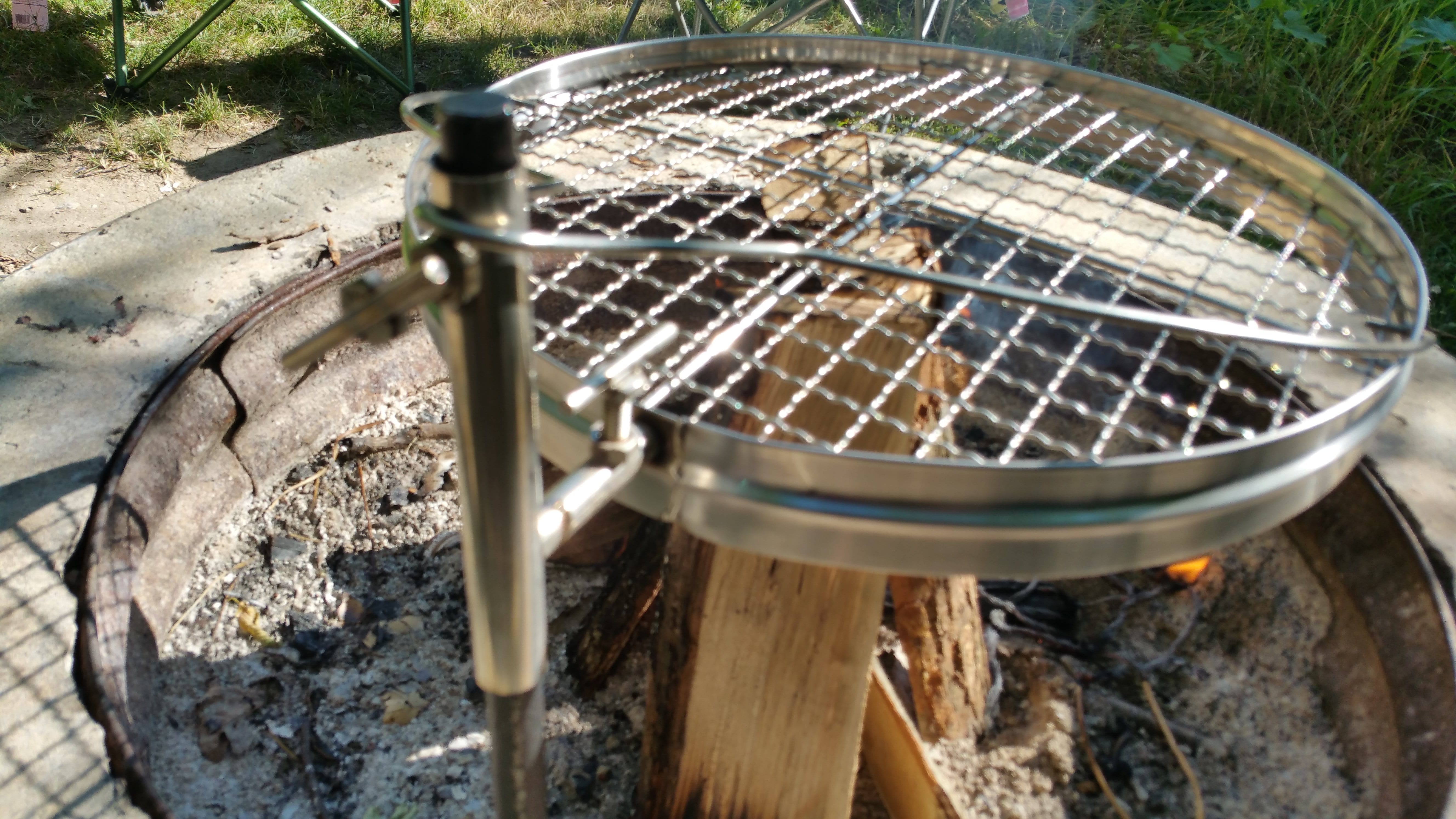 Camerons Open Fire Pit Grill Review - Active Gear Review