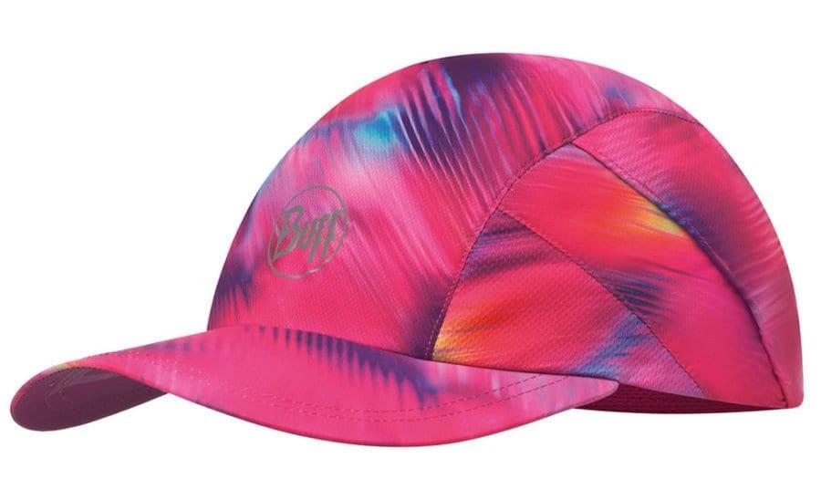 BUFF Optical Pink Run Cap Jogging Running Sportcap Outdoorcap Caps