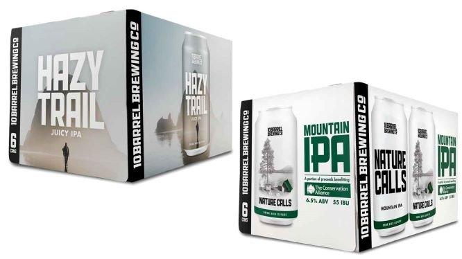 10 Barrel Brewing Hazy Trail and Nature Calls