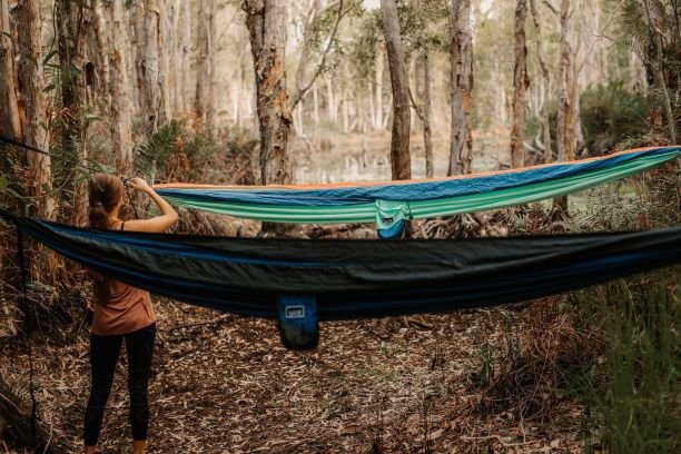 Nakie Recycled Hammock with Straps