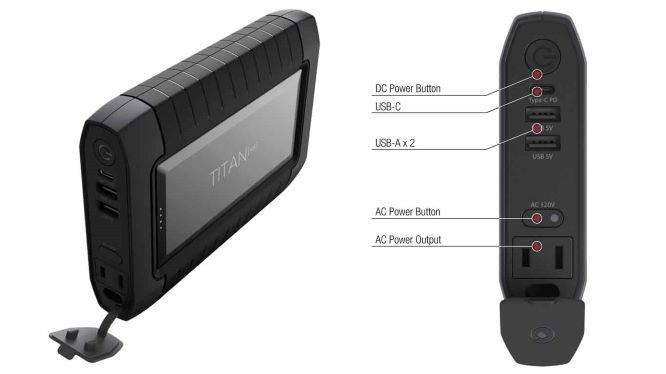 Raptic Titan Air Portable Powerbank